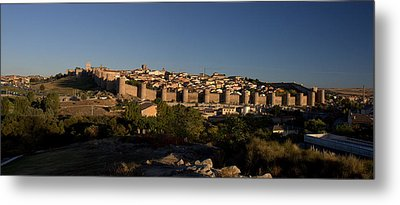 Metal Print featuring the photograph The Skyline Of Avila Spain by Farol Tomson
