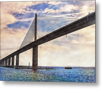 The Skyway Metal Print by Hanny Heim