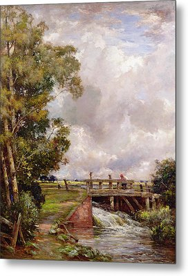 The Sluice Metal Print by Claude Hayes