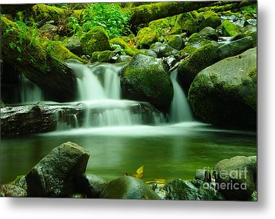 The Small Water Metal Print by Jeff Swan
