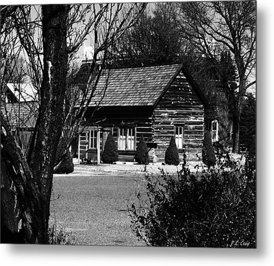 The Smithy Metal Print by Peri Craig