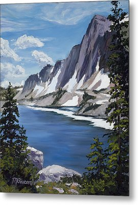 The Snowy Range Metal Print