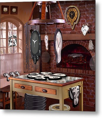 The Soft Clock Shop 3 Metal Print by Mike McGlothlen