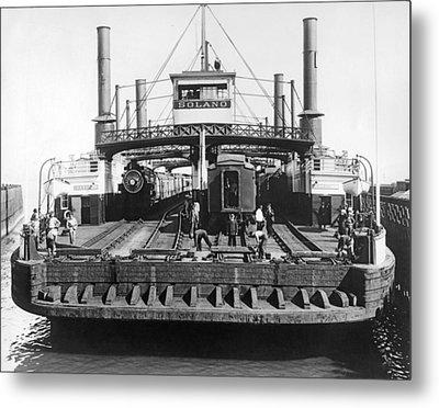 The Solano Ferry Metal Print