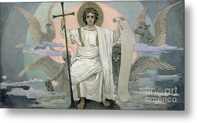 The Son Of God   The Word Of God Metal Print