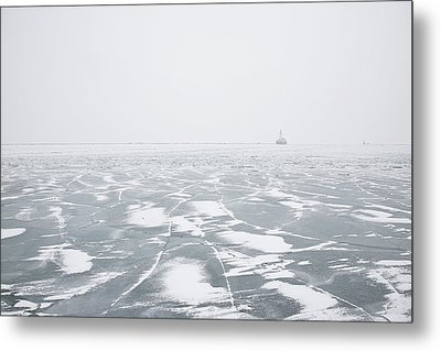 The Song Of Ice Metal Print by Joanna Madloch