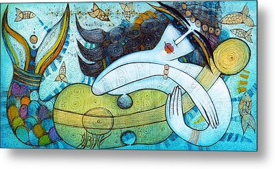 The Song Of The Mermaid Metal Print