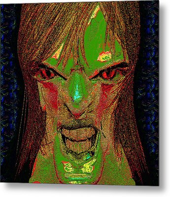 The Soul Gatherer Metal Print by Devalyn Marshall