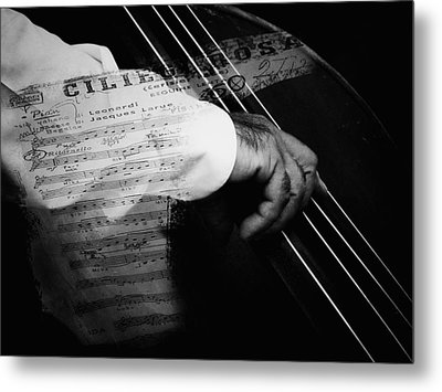 The Sound Of Memory Metal Print