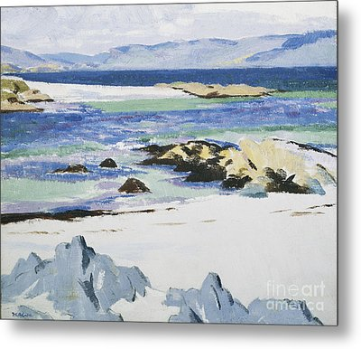 The Sound Of Mull From Iona Metal Print by Francis Campbell Boileau Cadell