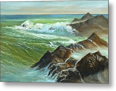 The Sound Of Surf Metal Print