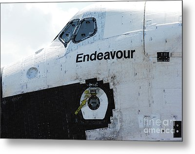 The Space Shuttle Endeavour 2 Metal Print by Micah May