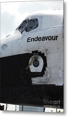 The Space Shuttle Endeavour 3 Metal Print by Micah May