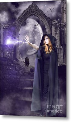 The Spell Is Cast Metal Print