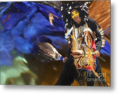The Spirit From Above Metal Print by Angelika Drake