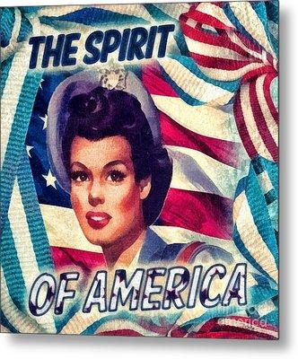 The Spirit Of America Metal Print