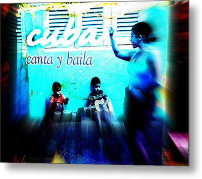 The Spirit Of Cuba And Cubans  Metal Print by Funkpix Photo Hunter