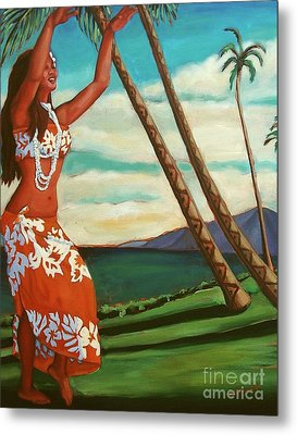 The Spirit Of Hula Metal Print