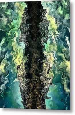 The Split By Rafi Talby Metal Print by Rafi Talby