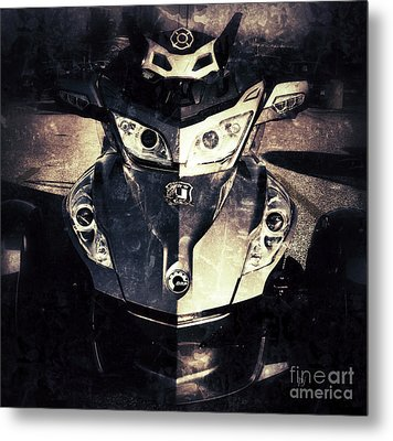 The Spyder Metal Print by Patricia Januszkiewicz