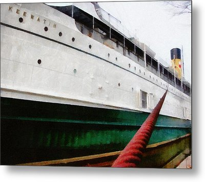 The S.s. Keewatin Metal Print by Michelle Calkins