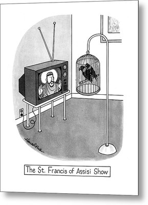 The St. Francis Of Assisi Show Metal Print by J.B. Handelsman
