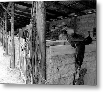 Metal Print featuring the photograph Very Stable by Natalie Ortiz