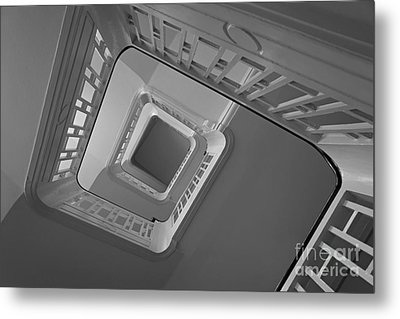 Metal Print featuring the photograph The Staircase by Inge Riis McDonald