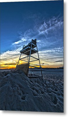 The Stand At Sunset Metal Print