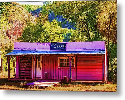 The Stand Metal Print