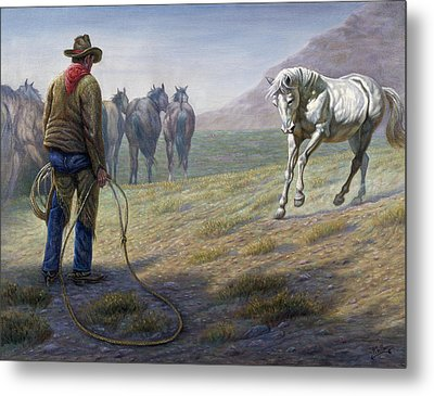 The Standoff Metal Print by Gregory Perillo