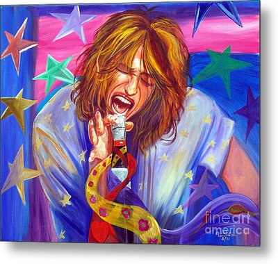The Star Is Born Metal Print by To-Tam Gerwe