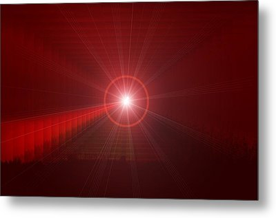 The Star Tunnel Metal Print by Jeff Swan