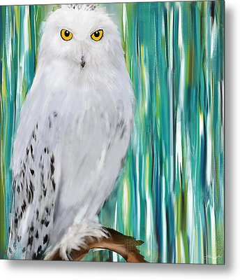The Stare Metal Print by Lourry Legarde