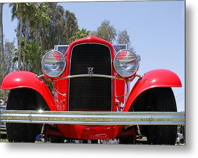 Metal Print featuring the photograph The Stare Of A V8 by Shoal Hollingsworth
