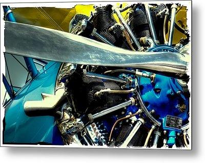 The Stearman Engine Metal Print by David Patterson