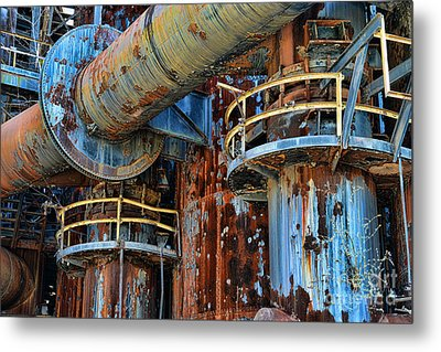 The Steel Mill Metal Print