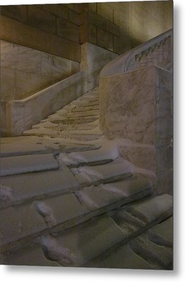 The Steps Out Of Sight Metal Print by Guy Ricketts