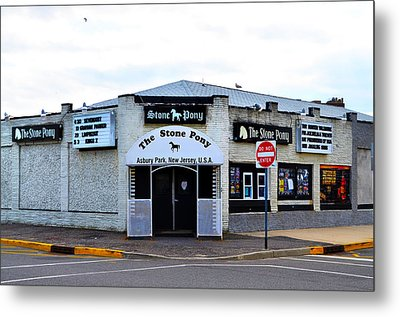The Stone Pony Metal Print by Bill Cannon