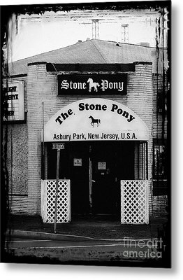 The Stone Pony Metal Print by Colleen Kammerer