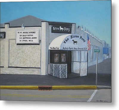 the Stone Pony Metal Print by Tim Maher