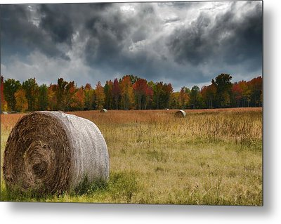 The Storm Is Coming Metal Print