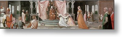 The Story Of Esther Metal Print by Peter Candid