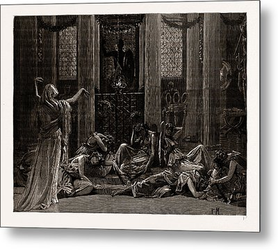 The Story Of Orestes, At The Princes Hall Metal Print