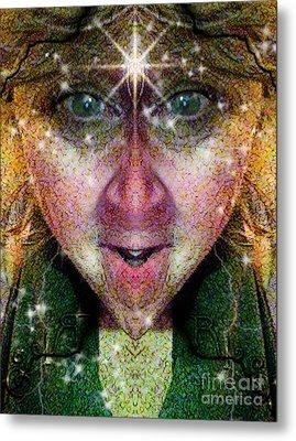 The Story Teller  Metal Print by Rhonda Strickland