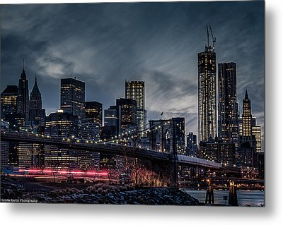 Metal Print featuring the photograph The Streaker In Nyc by Linda Karlin