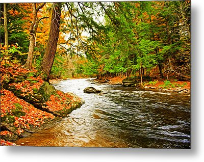 The Stream Metal Print by Bill Howard