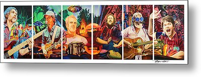 The String Cheese Incident At Horning's Hideout Metal Print by Joshua Morton