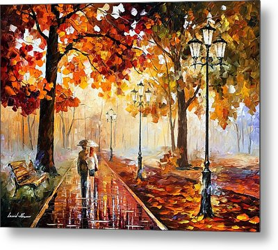 The Stroll Of Infinity Metal Print