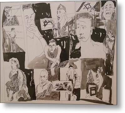 The Struggle For Independence Metal Print by Esther Newman-Cohen